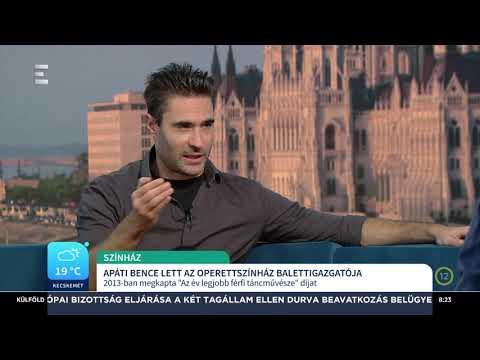 Apáti Bence a Budapesti Operettszínház új balettigazgatója - Apáti Bence - ECHO TV