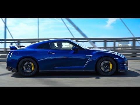 GT-R 1000 СИЛ vs. АВТОПИЛОТ / Кто быстрее в городе?