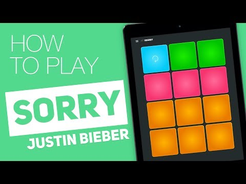 How to play: SORRY (Justin Bieber) - SUPER PADS - Regret Kit