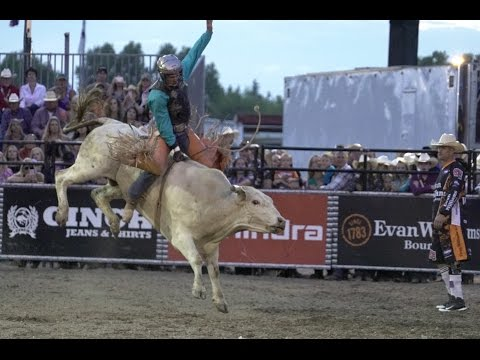 Top 10 Things to Do at Cheyenne Frontier Days - #9 Bull Riders Under the Lights (CBR World Finals)