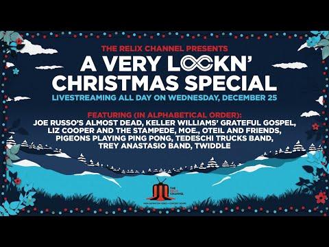 LOCKN' Christmas Special 2019 ft. Trey Anastasio, Derek Trucks, and Moe. and More