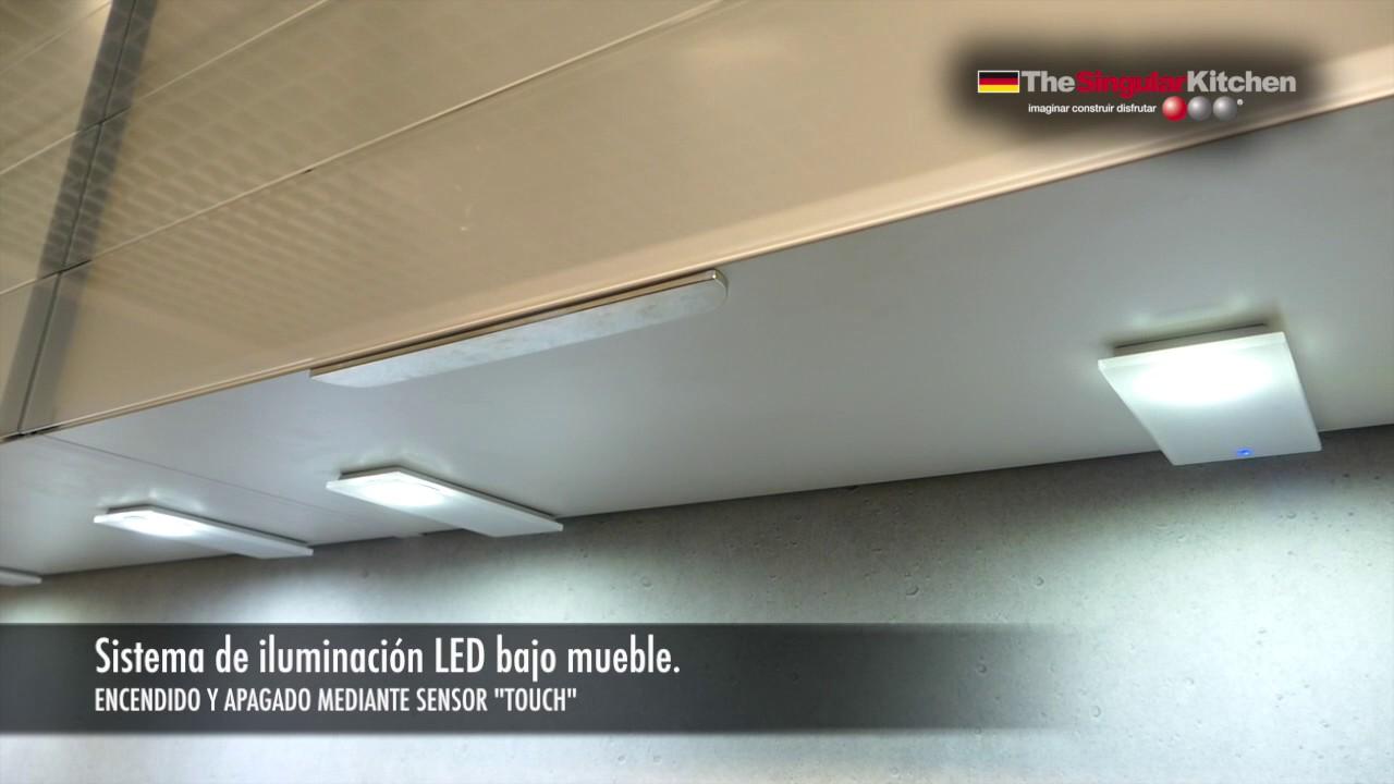 Ideas proyectos de cocina iluminaci n led youtube for Luz bajo mueble cocina