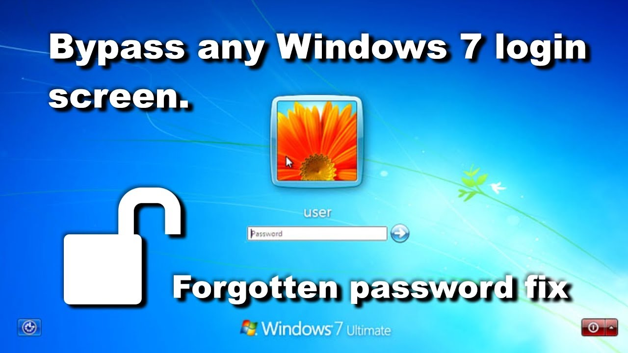 Cách Đặt Lại Khôi Phục hệ điều hành win 7 Khi Bị Quên mật khẩu