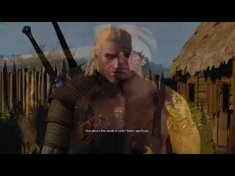 [Witcher] Geralt asks for a round of gwent