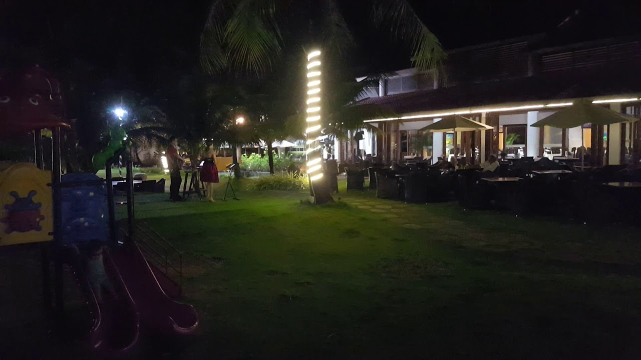 Mercury Phu Quoc resorts and villa at night