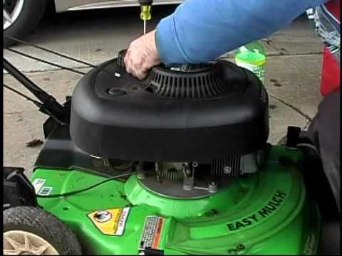LawnBoy Mower Repair Pt1