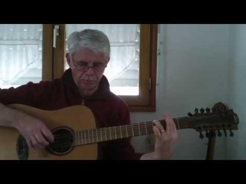 12 String Guitar Solo Ventura Highway Tab America Youtube
