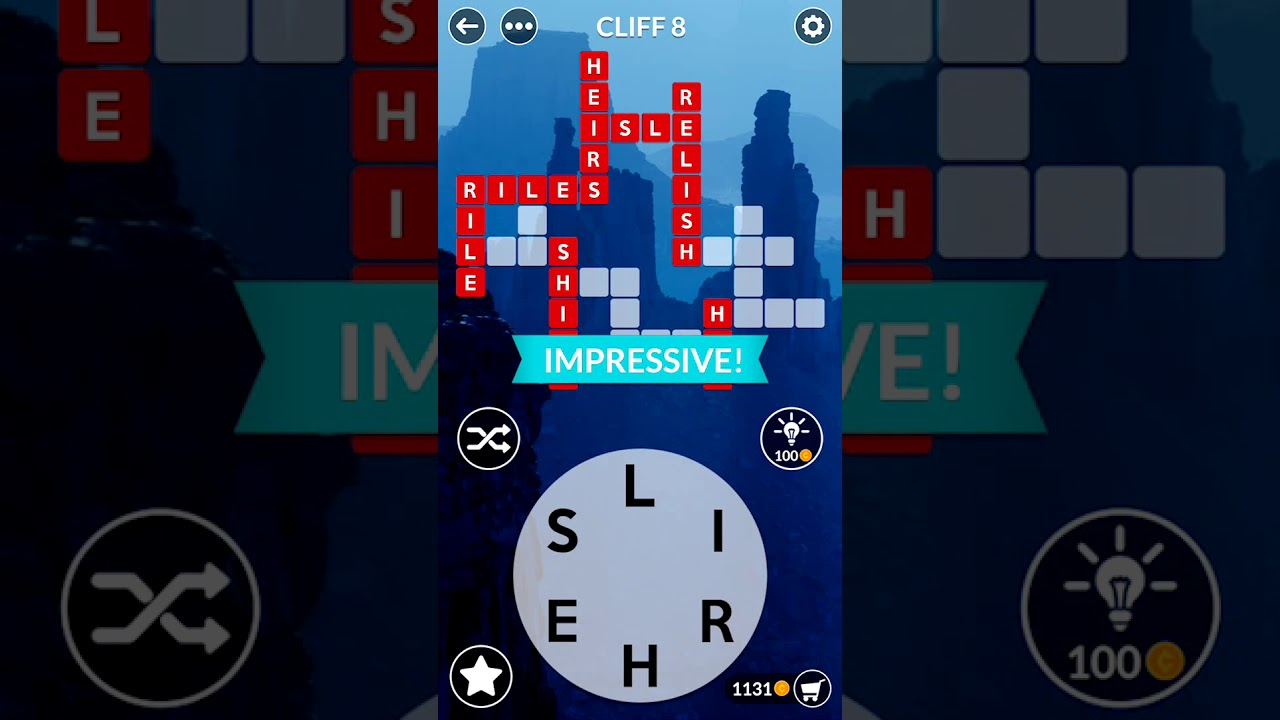 Wordscapes Cliff 8 Wordscapes Answers Youtube