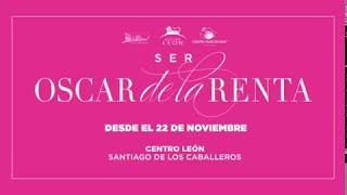 Leon center. Opening ceremony / Ser Oscar de la Renta