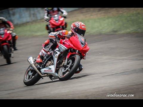 Marc Marquez geber new CBR150R Sentul Indonesia 2016