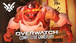 LET'S RANK UP!!! (Overwatch Competitive Gameplay)