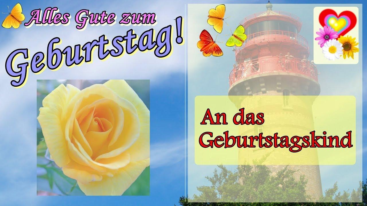 Geburtstagsgrusse Schones Geburtstagsvideo Bilder Zum Versenden