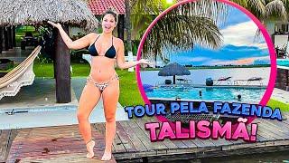 TOUR PELA FAZENDA TALISMÃ!!