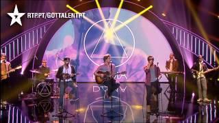 D.A.M.A. - ÀS VEZES - GALA 06 - GOT TALENT PORTUGAL 2015
