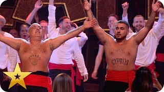 Dance along with the LEGENDARY Stavros Flatley | BGT: The Champions