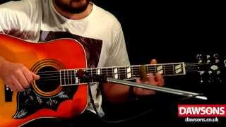 Epiphone Hummingbird Review