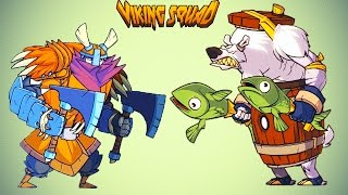 Отряд ВИКИНГОВ Новый игровой мультфильм для детей Viking Squad