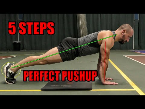 5 Steps to Perfect Pushups | Push Up Tutorial | Do Your First Push Up