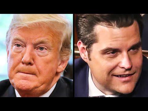 Trump Hangs Matt Gaetz Out To Dry