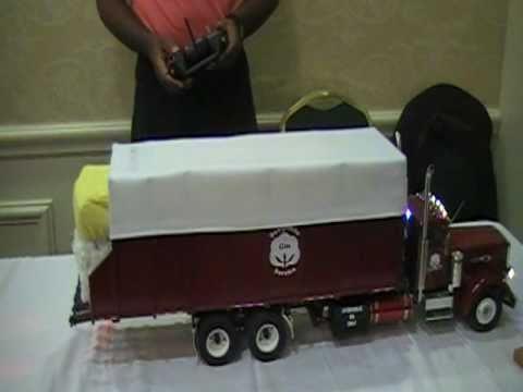 Radio Control Cotton Module Truck