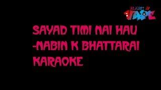Sayad Timi Nai Hau Karaoke- Nabin K Bhattarai //(Jyovan Bhuju ft.Rahul Bishwas Cover)#JyovanStudios