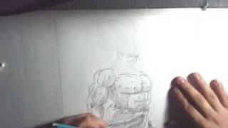 drawing goku namek