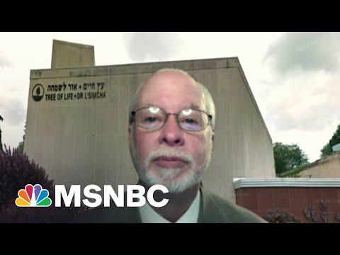Tree of Life Synagogue Rabbi On Rising Anti-Semitic Attacks | MSNBC