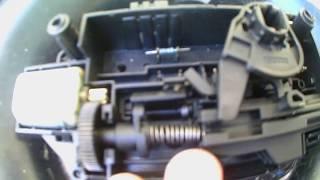 Opel vektra c РЕМОНТ ЗАМКА Багажника