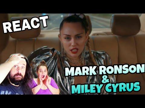 REAGINDO: MARK RONSON  FT MILEY CYRUS - NOTHING BREAKS LIKE A HEART REACT