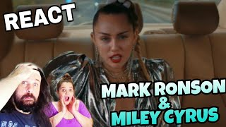 Baixar REAGINDO: MARK RONSON  FT MILEY CYRUS - NOTHING BREAKS LIKE A HEART (REACT)