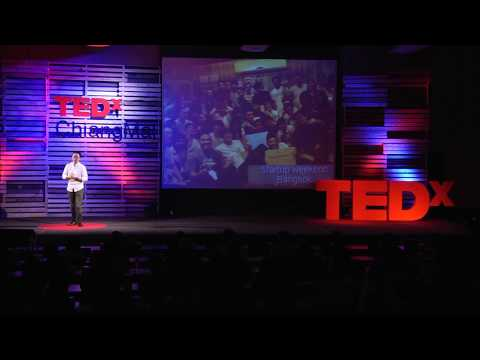 Coworking can change the world: Amarit Charoenphan at TEDxChiangMai 2013