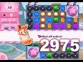 Candy Crush Saga Level 2975 (3 stars, No boosters)