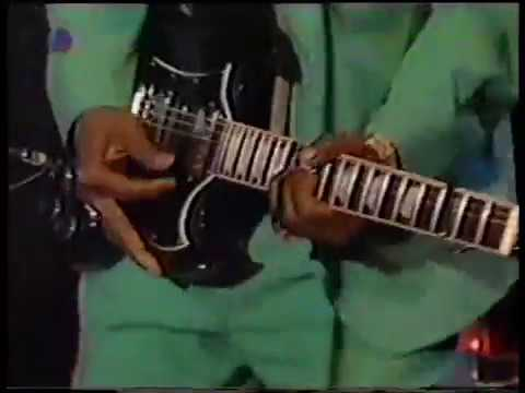 "Johnny ""Guitar"" Watson & Band, Bow Wow live in a Köln studio, 1993"