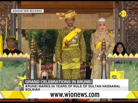 Brunei marks 50 years of rule of Sultan Hassanal Bolkiah