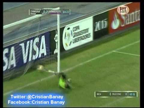 Zamora 0 Wanderers 3 (Relato Fernando Perez Copa Libertadores 2015