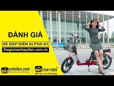 Đánh giá xe đạp điện Alpha A1