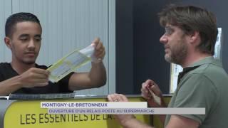Montigny-le-Bretonneux : ouverture du premier point poste des Yvelines