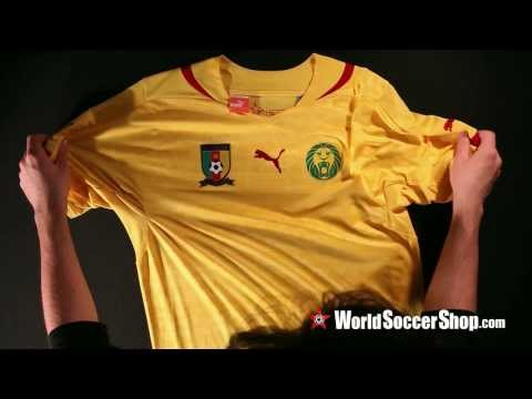 Puma Cameroon 2014 Away Soccer Jersey - Unboxing