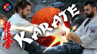 Смотреть видео Куда сходить в Москве? Обучение каратэ - Школа Кёкусинкай!🥋 онлайн