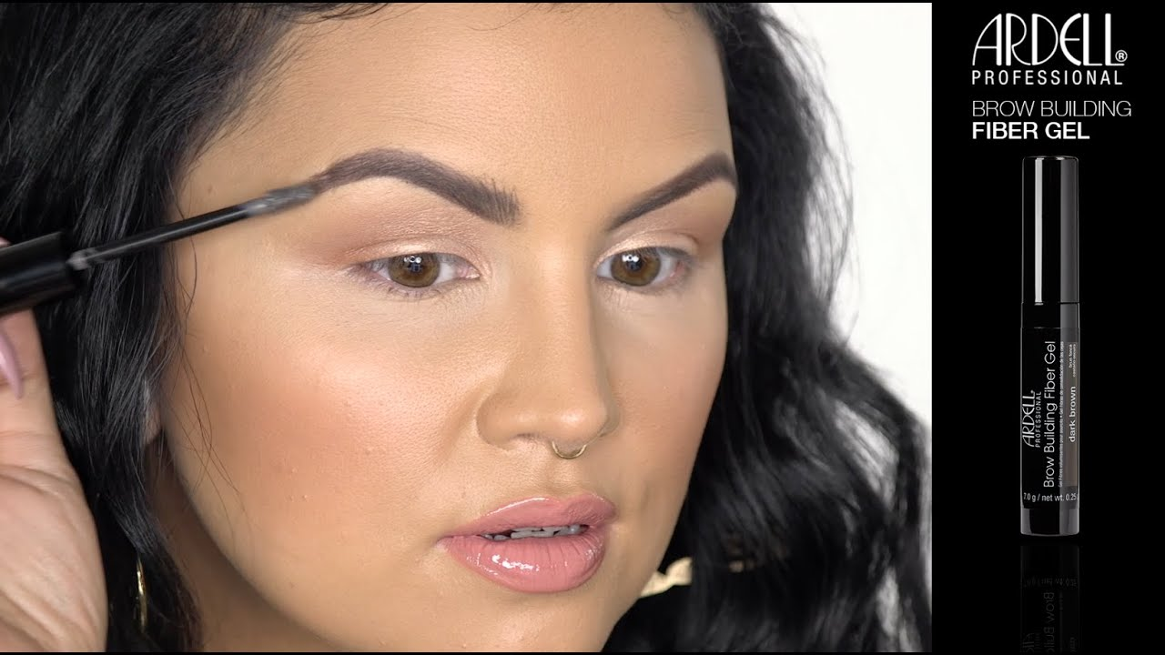Bowtothebrows With Ardell Brow Fiber Gel Ft Steflova1 Youtube