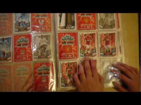 Match Attax 2012 / 2013 Binder Review vol.1 MatchAttax 12 13