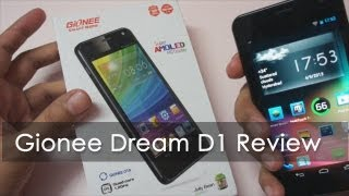 Gionee Dream D1 In-depth Review - Geekyranjit