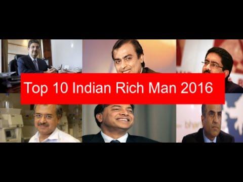 Top 10 Indian Rich Man 2016