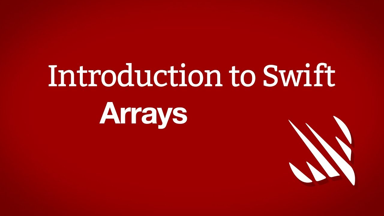 Introduction to Swift: Arrays