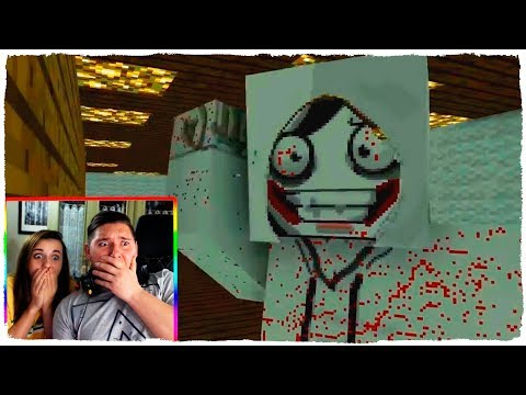 ¡JEFF THE KILLER REAL APARECE EN MINECRAFT! - ANIMACIÓN ESCUELA DE MONSTRUOS (VÍDEO REACCIÓN)