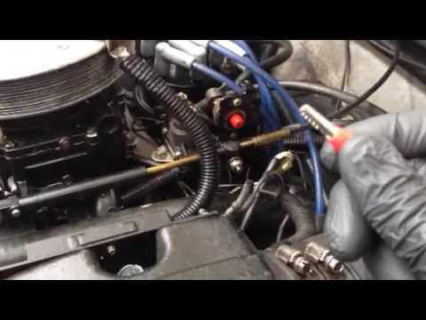 Starting a Mercruiser when your solenoid has failed - YouTube