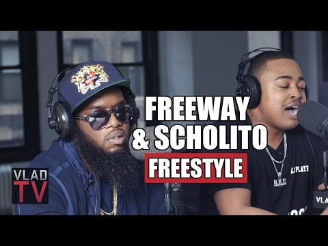Freeway and Scholito Freestyle on VladTV