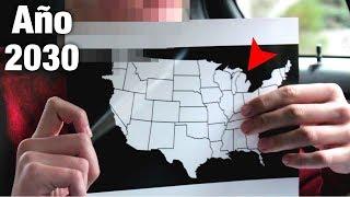 Viajante Del Tiempo Revela Mapa de Estados Unidos del 2030