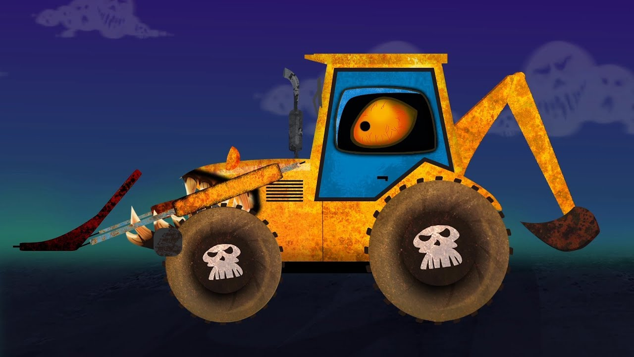 Backhoe Loader Formation And Uses Video For Kids And ...