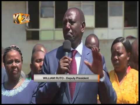Pres. Kenyatta puts on notice public servants over graft